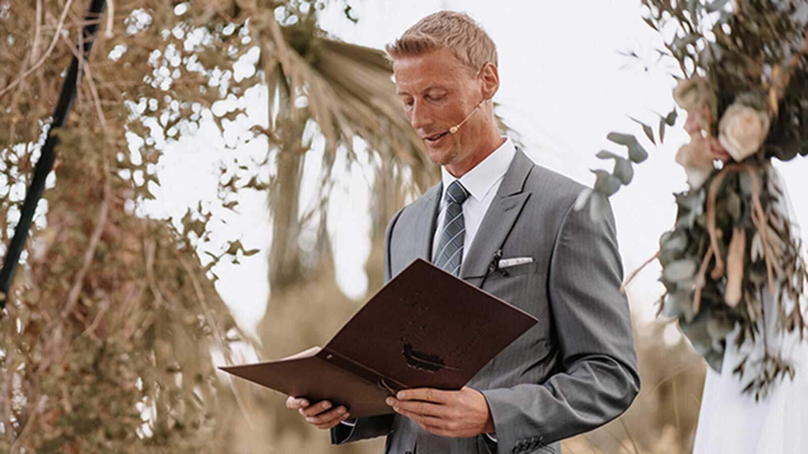 Hochzeitsredner Mallorca Portrait